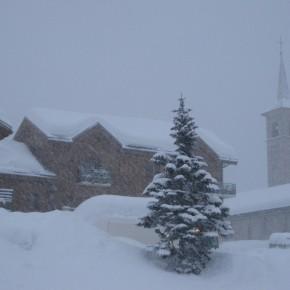В предверии Нового года из Французских Альп