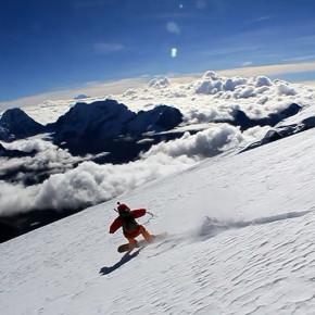 Восхождение  со сноубордом на Мера Пик (6447м)