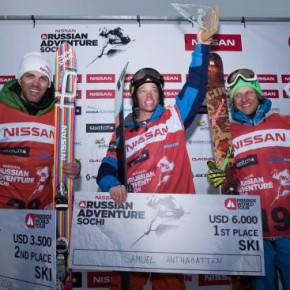 В красной поляне состоялся финальный заезд Nissan Russian Adventure Sochi 2011.