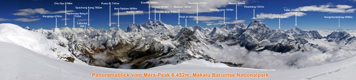 Everest-Panorama