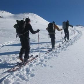 В Школе Гидов перешли к блоку ски-тур В Школе Гидов перешли к блоку ски-тур