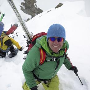 Экзамен на лыжного гида со сноубордом
