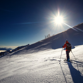 Разведка ски-тур маршрутов в Абхазии
